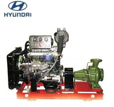 May bom chua chay Hyundai