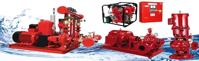 các thương hiệu máy bơm chữa cháy