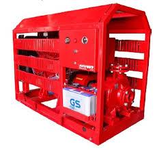 hình dáng mẫu mã của máy bơm chữa cháy Huydai